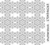minimal islamic ornament...   Shutterstock .eps vector #1704546265