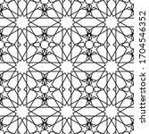 minimal islamic ornament... | Shutterstock .eps vector #1704546352