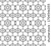 minimal islamic ornament... | Shutterstock .eps vector #1704546355