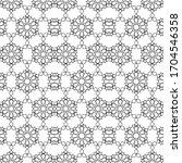 minimal islamic ornament... | Shutterstock .eps vector #1704546358