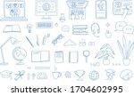 learning online  e learning... | Shutterstock .eps vector #1704602995