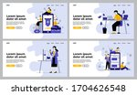 different professionals set.... | Shutterstock .eps vector #1704626548