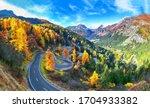Stunning View Of Maloja Pass...
