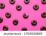 Doughnuts Aligned Symmetrically ...