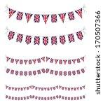 uk bunting | Shutterstock .eps vector #170507366