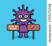 professor of viruses calls for ... | Shutterstock .eps vector #1705173748