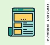 website. concept illustration ...   Shutterstock .eps vector #1705192555