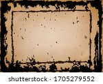 grunge texture with rusted... | Shutterstock .eps vector #1705279552
