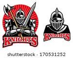 medieval knight mascot | Shutterstock .eps vector #170531252