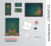 vector templates. daily kit.... | Shutterstock .eps vector #170533712