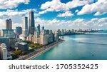 Chicago Skyline Aerial Drone...