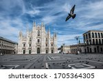 The Gothic Duomo Cathedral...