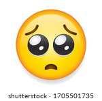 high quality emoticon on... | Shutterstock .eps vector #1705501735