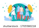 doctors protect citizens from... | Shutterstock .eps vector #1705580218