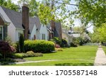 Small photo of Older established residential neighborhood of homes.