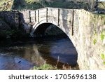 Historic Old Packhorse Bridge...