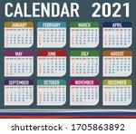 2021 Year Calendar With...