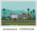 illustration of indian... | Shutterstock .eps vector #1705924138