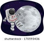 Illustration Of An Astronaut...