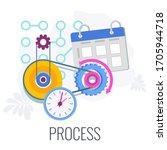 Process Infographics Flat...