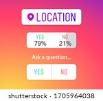 location icon  sign  sticker... | Shutterstock .eps vector #1705964038