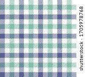 seamless gingham pattern in... | Shutterstock .eps vector #1705978768