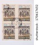 Постер, плакат: mail stamp released in