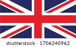 vector design element   flag of ... | Shutterstock .eps vector #1706240962