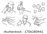 protection against viruses and ... | Shutterstock .eps vector #1706280442