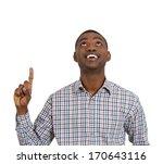 closeup portrait of young man... | Shutterstock . vector #170643116