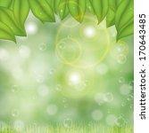 abstract spring summer... | Shutterstock .eps vector #170643485