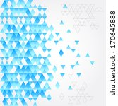abstract geometric background | Shutterstock .eps vector #170645888
