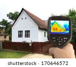 heat loss detection of the... | Shutterstock . vector #170646572
