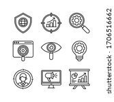 seo   marketing icon set   web...