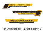 vector  lower third or... | Shutterstock .eps vector #1706538448