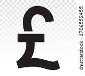 Pound Currency Sign Or British...