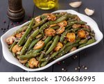 Green Bean And Mushroom Stir...