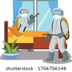 medical staff are doing...   Shutterstock .eps vector #1706706148