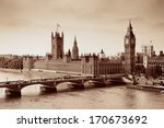 London Westminster With Big Be...