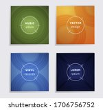 cool plate music album covers...   Shutterstock .eps vector #1706756752