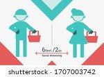 banner templete social... | Shutterstock .eps vector #1707003742