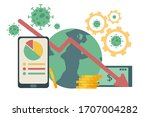 flat illustration vector of the ... | Shutterstock .eps vector #1707004282