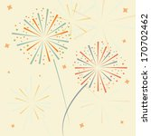 vector firework in honor of... | Shutterstock .eps vector #170702462