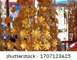 handmade from chiang mai ... | Shutterstock . vector #1707123625