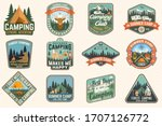 outdoor adventure patch with... | Shutterstock .eps vector #1707126772