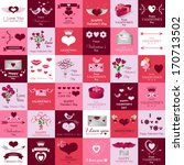happy valentines day and... | Shutterstock .eps vector #170713502