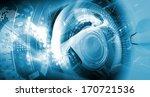 digital image of car steering... | Shutterstock . vector #170721536