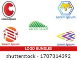 logo set bundle vector design | Shutterstock .eps vector #1707314392