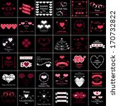 happy valentines day and...   Shutterstock .eps vector #170732822