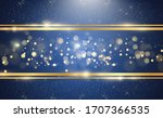 gold glitter with shiny gold... | Shutterstock .eps vector #1707366535